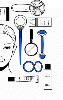 Illustration of Skin Types