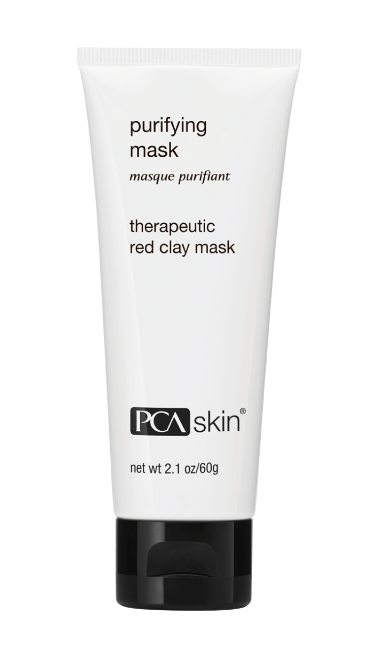 Purifying Mask - Therapeutic red clay mask (net wt 2.1 oz/60g tube)